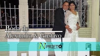 VideoClip Boda Alexandra & Gustavo - Salón Celeste - 2018
