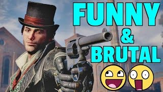 Assassin's Creed Syndicate Brutal and Funny Kill Compilation Part 1