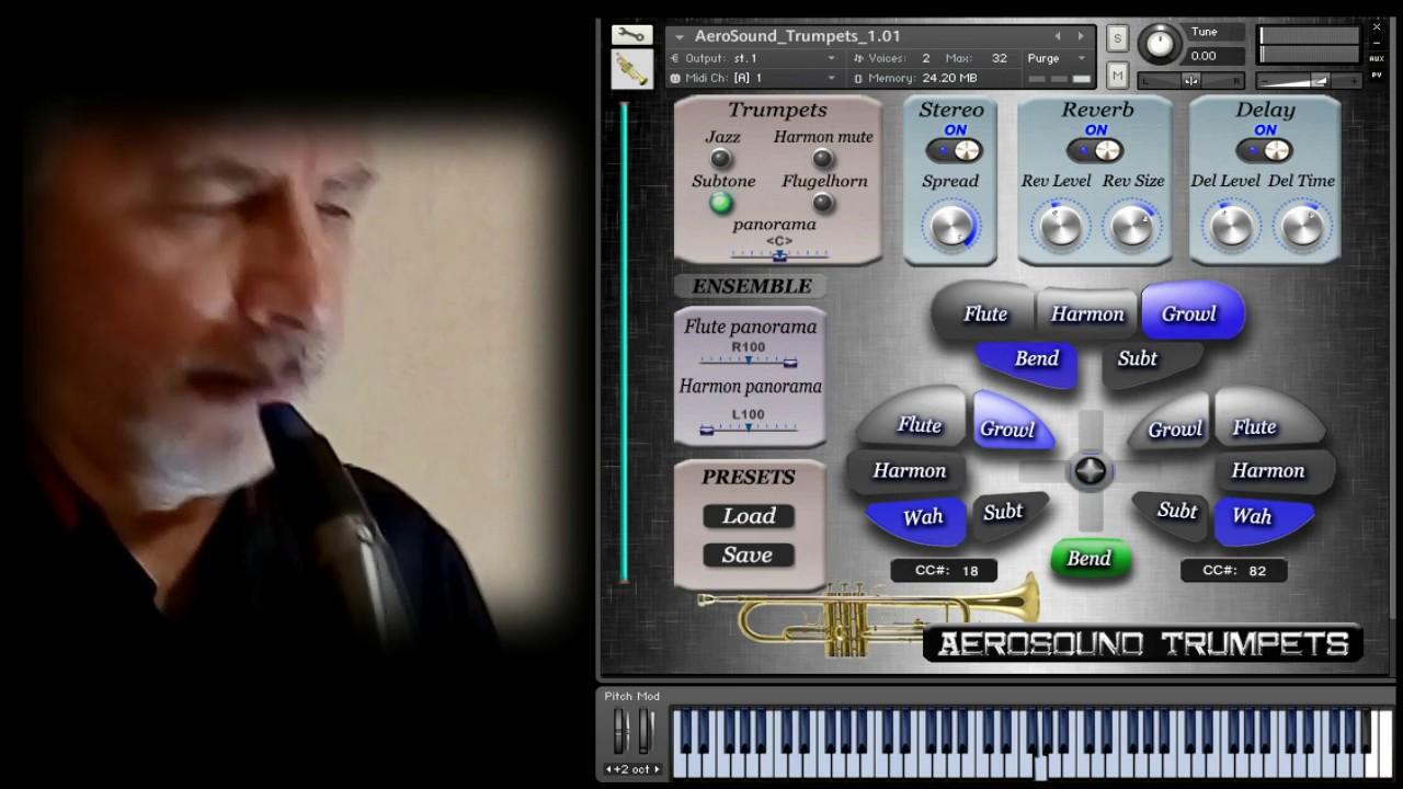 VG Trumpet Saxophone Kontakt Sounds | WAV | EWI4000s Patches