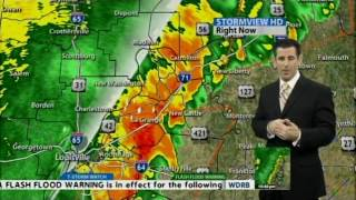 wdrb tv severe weather coverage 12 21 2013 10 34 11 16pm part 2 of 2