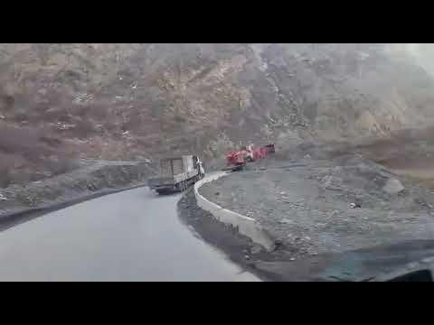 A.R.T. Logistics on the road transporting special cargo to Rogun, Tajikistan