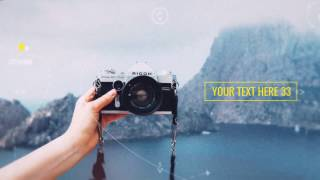 Travel Parallax Slideshow - After Effects Template (long)