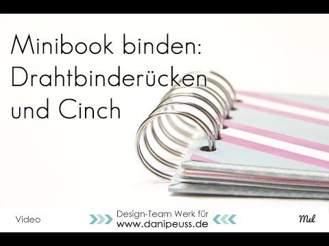 Minialbum mit der Cinch binden