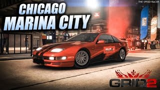 GRID 2 - Nissan Fairlady Z - Chicago Faceoff - Marina City