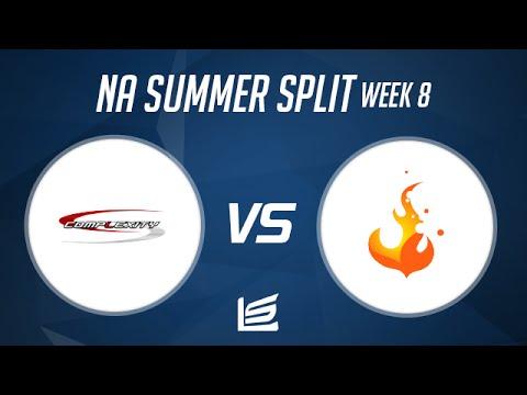 NA LCS 2014 Summer W8D1: Complexity vs Curse Highlights