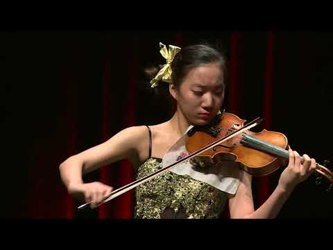 ELLI CHOI  Menuhin Competition 2018 Senior first rounds - day 1