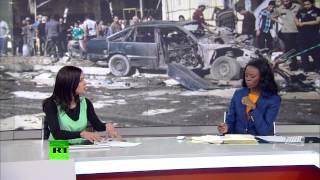 В Ираке раскручивается спираль насилия(По последним данным, в результате взрывов, которые террористы-смертники осуществили в нескольких мечетях..., 2013-03-30T09:35:59.000Z)