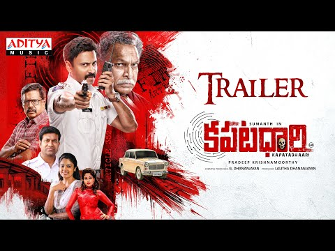 Kapatadhaari Telugu Movie Trailer | Sumanth | Nandita Swetha | Simon K King | Pradeep Krishnamoorthy