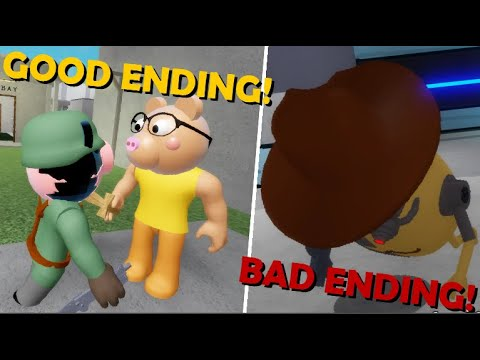 PIGGY - GOOD AND BAD ENDING! (CHAPTER 12)
