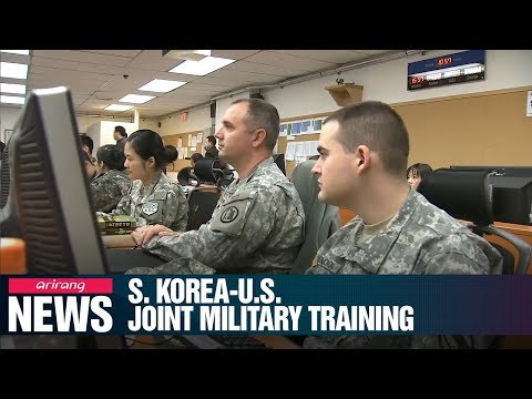 S. Korea, U.S. Militaries Hold Combined Command Post Training Exercise Starting Sunday