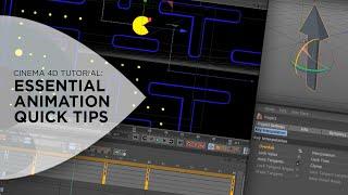 Cinema 4D Tutorial - Animation Quick Tips for Cinema 4D