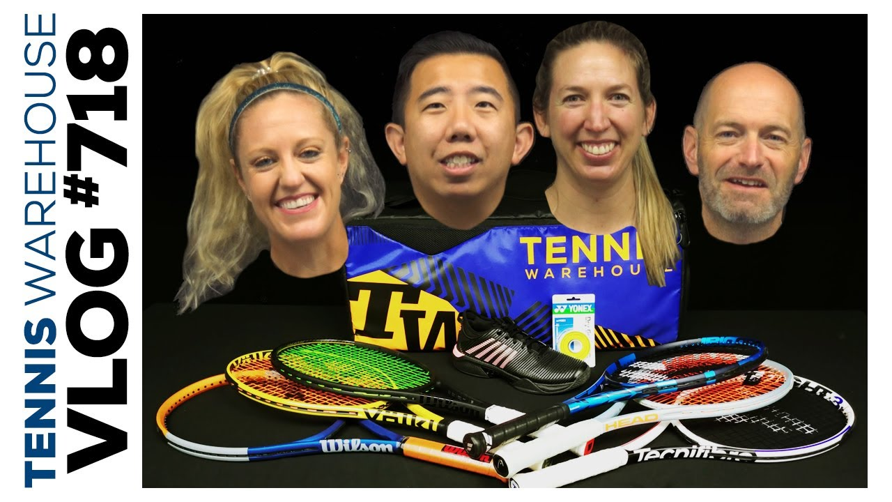 PLAYTESTER PICKS: the best tennis gear RIGHT now (sneak peek at an unreleased racquet) - VLOG #718