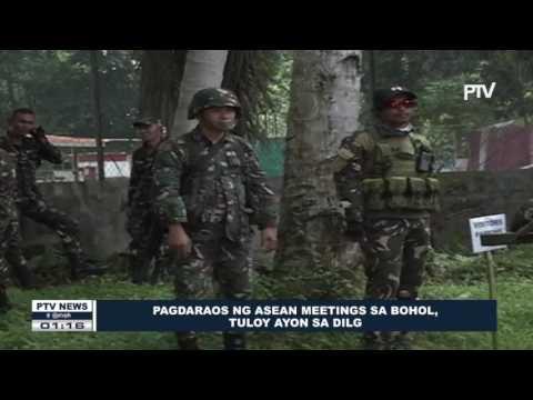 DILG: Pagdaraos ng #ASEAN meetings sa Bohol, tuloy