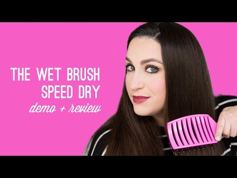 Dry Hair Faster with The Wet Brush Speed Dry