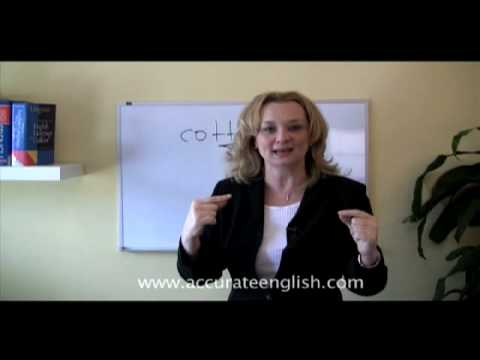 American Accent Advanced Lesson