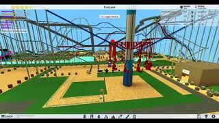 roblox - theme park tycoon 2 - building the swing