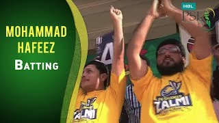 Match 10: Karachi Kings vs Peshawar Zalmi - Mohammad Hafeez Batting