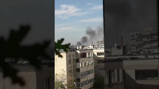 Incendiu Ploiesti zona Republicii