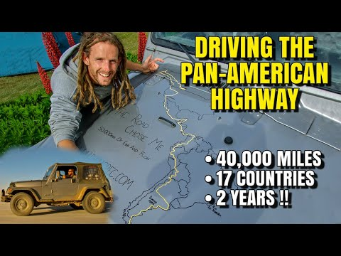 I drove the entire Pan-American Highway from Alaska to Argentina - you can too!
