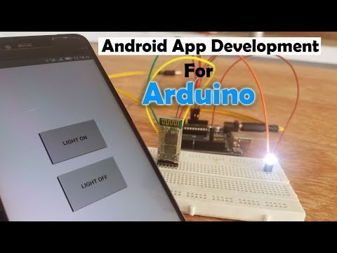 How To Create An Android App With Android Studio To Control LED Using Arduino