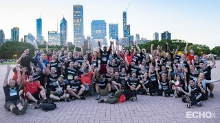 Echo at the J.P. Morgan Corporate Challenge 2019