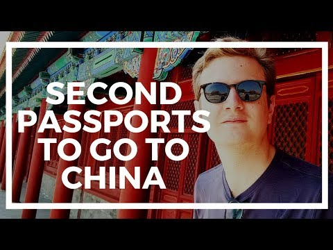 Second passports with visa-free travel to China 🇨🇳