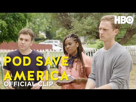 Canvassing ft. Akilah Hughes | Pod Save America | HBO