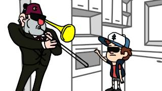 When Mom isnt home parody / Gravity Falls
