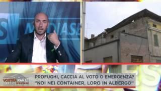 #Morelli, Renzi mette i clandestini negli alberghi e lascia i terremotati nei container