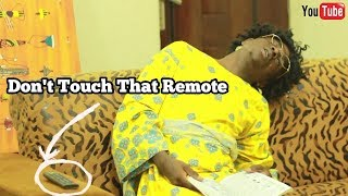 How African Parents Use Tv Remote | MC SHEM COMEDIAN | African Comedy