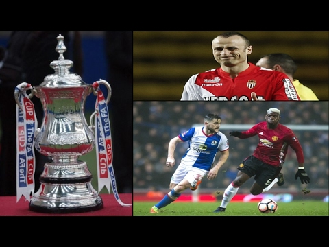 FA Cup fixtures have been drawn, Man United vs Blackburn rovers 2-1, Berbatov is looking for a club