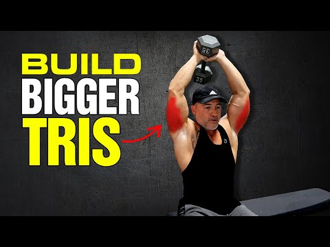 Build Bigger Triceps Now ���� A Dumbbell Only Triceps Workout (This is how you Gain overall Arm Mass!)