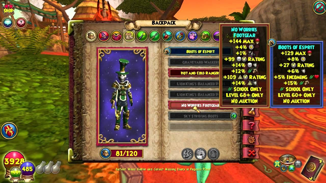 Fire Level Quest Tree Wizard101 Names