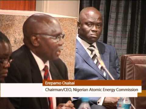 ATOMIC ENERGY COMMISSION BOARD INAUGURATED.