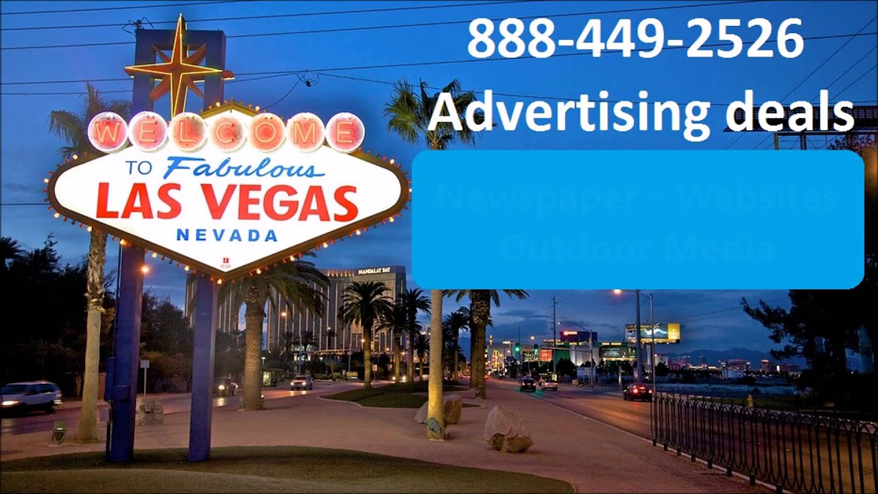 cost to advertise in Las Vegas NevadaAd agency