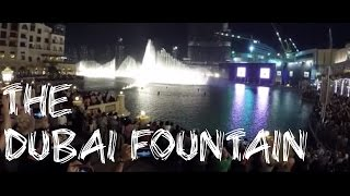 The Dubai Fountain - Burj Khalifa Fountain Show 4K - Worlds Tallest Building