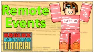 Advanced Roblox Scripting Tutorial #8 - Remote Events & Remote Functions (Beginner to Pro 2019)