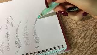 MICROBLADING: Stroke pattern TIPS TRICKS BEGINNER