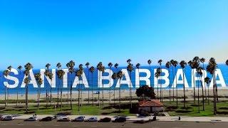 DJI Phantom Drone- Santa Barbara (4K)