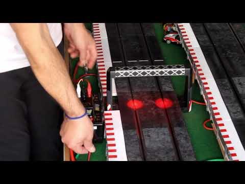 Conexiones, cuentavueltas y mandos circuito de Scalextric, Ninco, slot