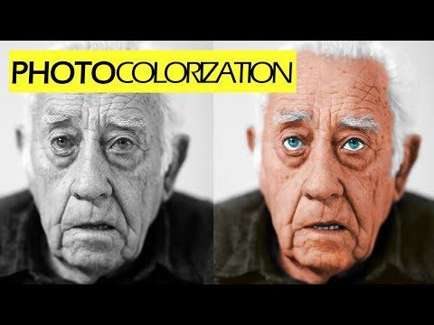 Photo Colorization TimeLapse Photo Restoration GIMP/Photoshop thumbnail