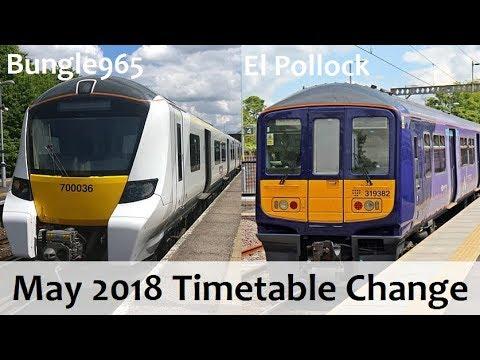 The May 2018 Timetable Change! (Train News Bonus)