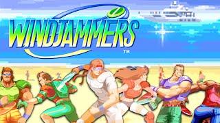Windjammers – Character Gameplay Trailer