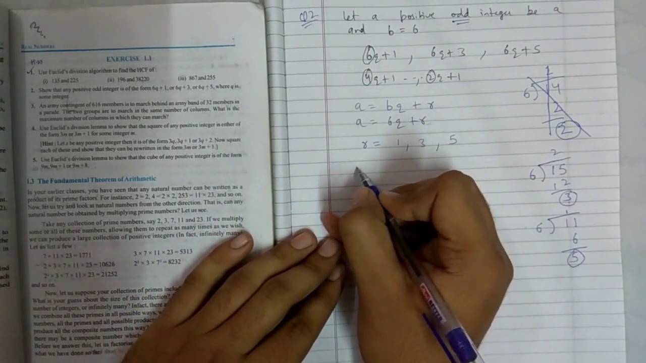 Chapter 1 real numbers maths class 10 exercise 1.1 || NCERT|| Math ...