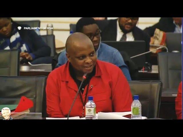 Must Watch   Floyd Shivambu GRILLS Brian Molefe On Eskom - Parliament