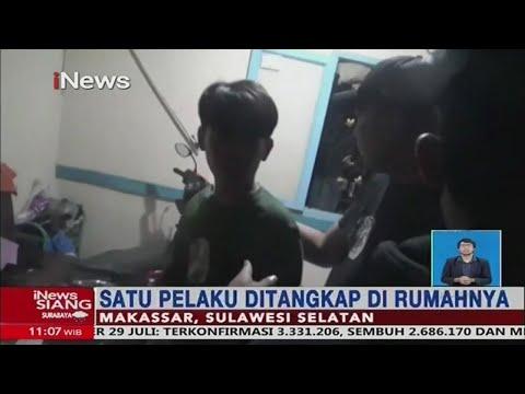 Polisi Ringkus 10 Pengeroyok Juru Parkir Di Makassar #iNewsSiang 30/07