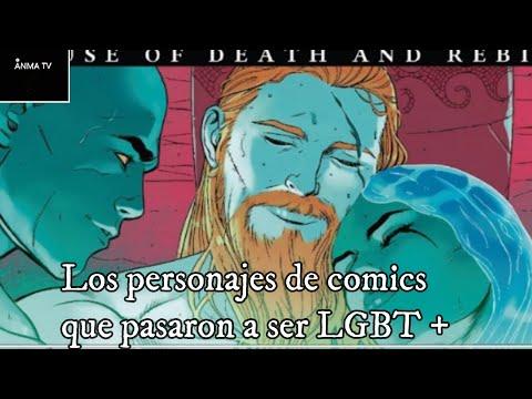Los personajes de Comic que se han convertido en LGBT parte 1