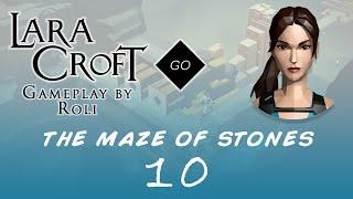 Lara Croft GO The Maze Of Stones 10 A Narrow Escape