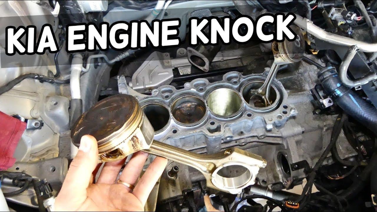 KIA 1 8 2 0 ENGINE KNOCK TICKING due to PISTON SLAP