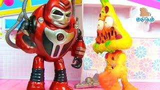 GROSSERY GANG Продуктовая банда и Уборщики! Видео для детей! Детский мультик